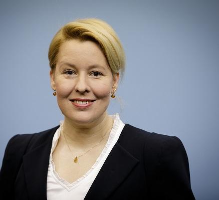 Bundesfamilienministerin Dr. Giffey Quelle:Photothek/Thomas Imo