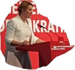 Bundesfamilienministerin Dr. Giffey Quelle:Ursula Wertheim-Schäfer